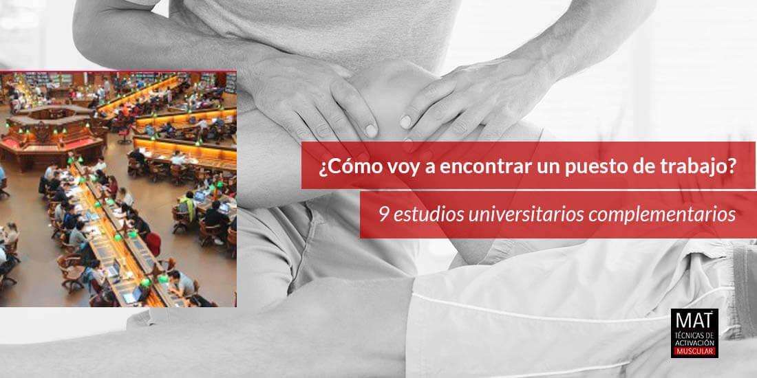 9 estudios universitarios dedicados al cuidado y bienestar de la salud